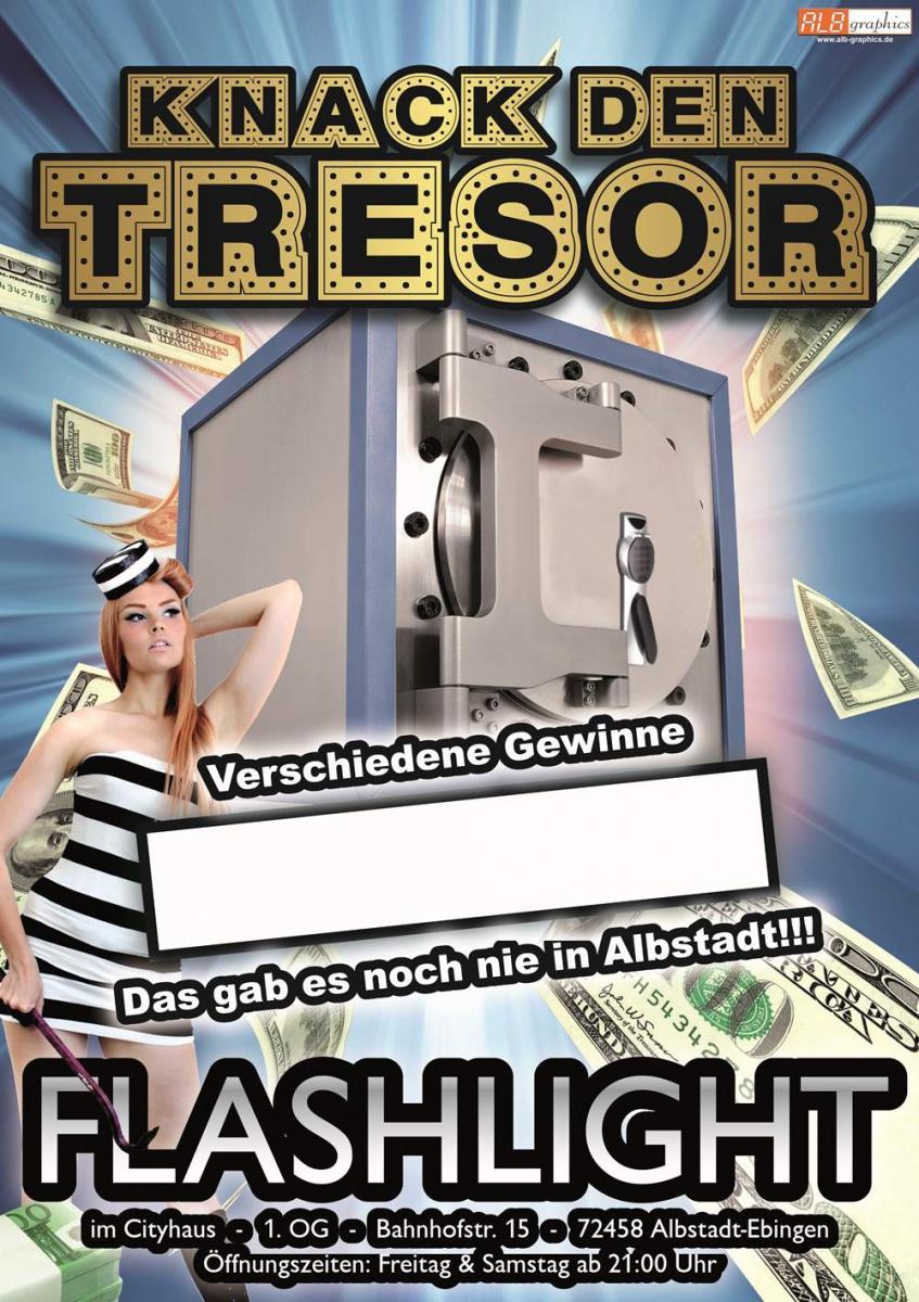 Plakat für eine Bar