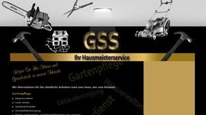Homepage für einen Hausmeisterservice